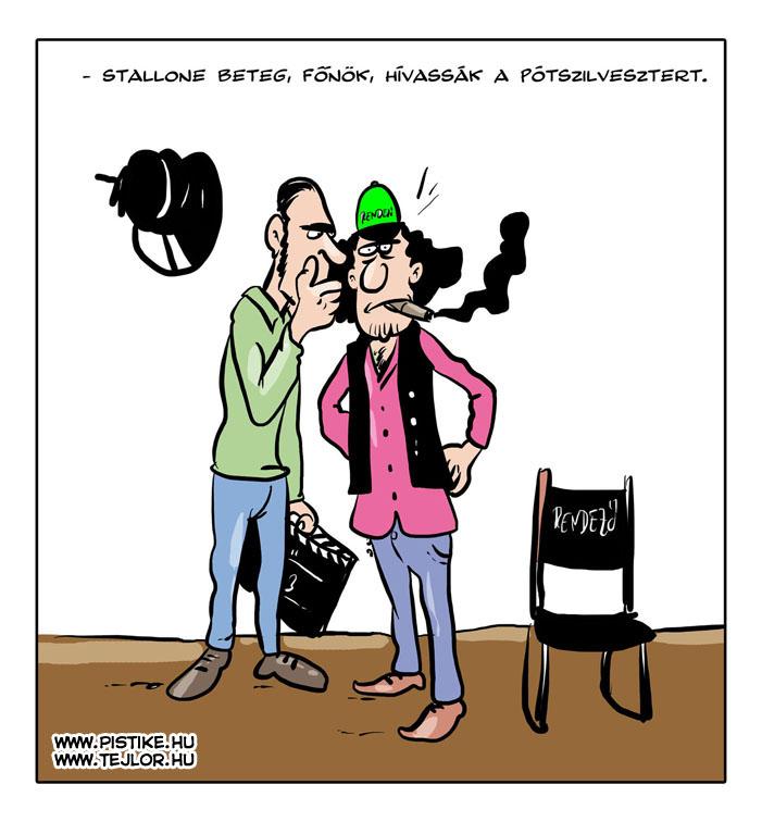 Tejlor napi karikatúra