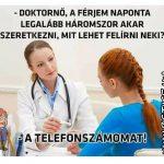 Érdeklődő a doktornő